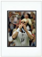 Andre Agassi Autograph Signed Photo
